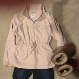 Old Navy XL utility jacket blush pink